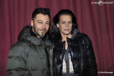 Christophe Maé & La princesse Stéphanie de Monaco