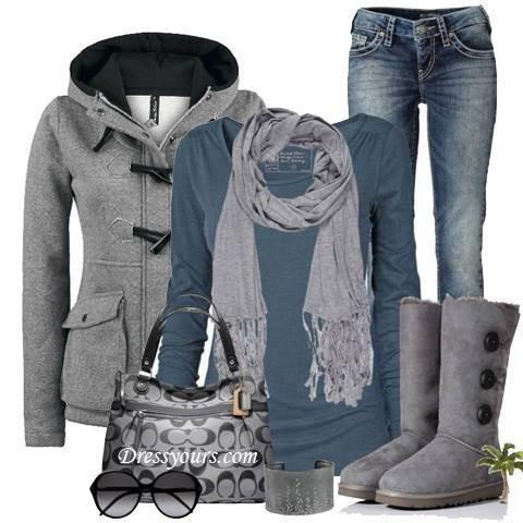 Look : t'aime le gris .. Ou pas ^^