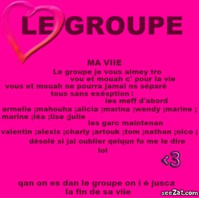 LE GROUPE <3