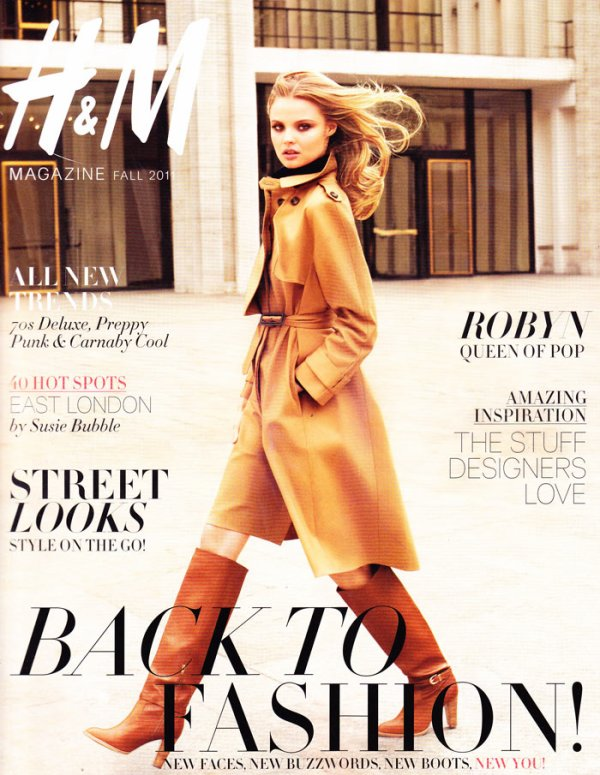 • H&M Magazine Fall 2011 Cover | Magdalena Frackowiak by Terry Richardson