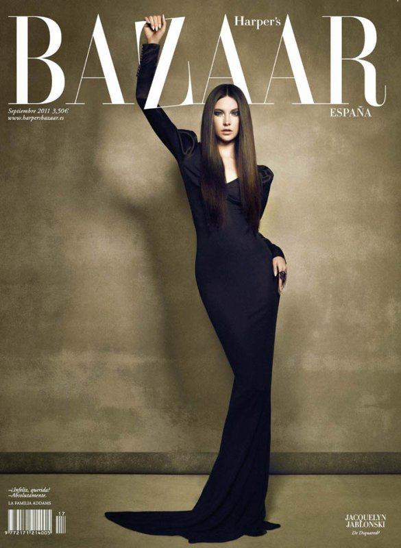 • Jacquelyn Jablonski in DSquared2 for Harper's Bazaar's Spain September 2011 (Cover)