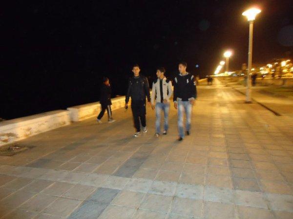 moi avec les amis