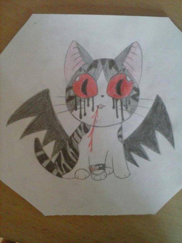Chi le vampire concour de dessin blog d 39 une yandere kawaii - Dessin de chi ...