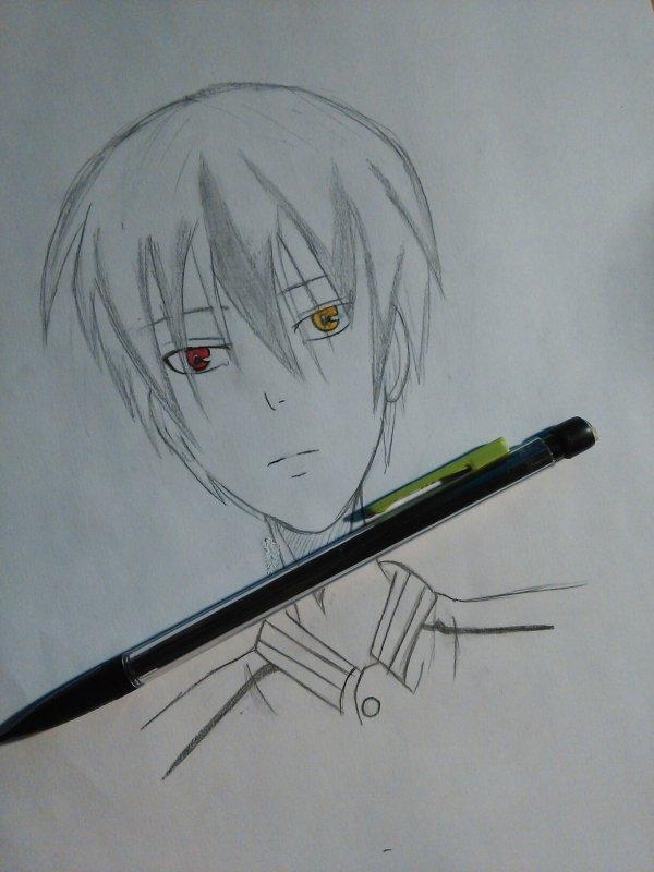 Dessin d'Akashi...même si on dirait pas lui -_-