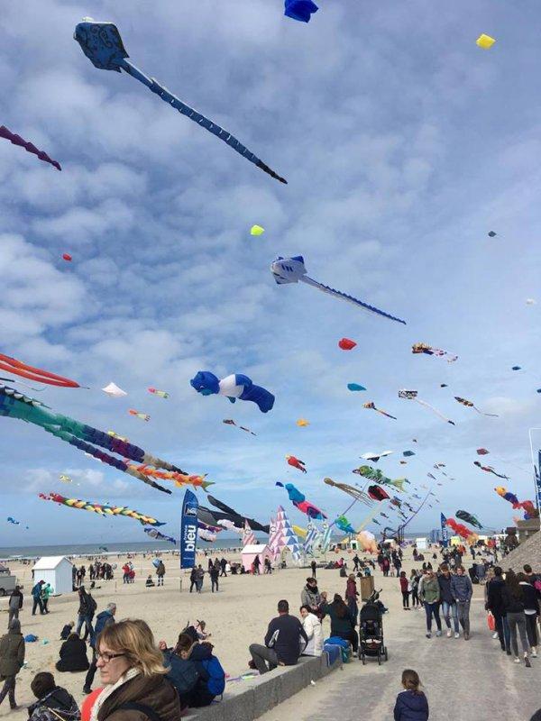 Séjour au 31 ème rencontres  internationales de cerf volants de Berck Sur mer
