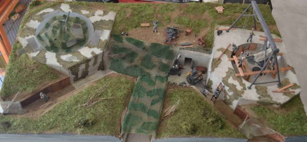 blockhaus fl 243 double en hollande