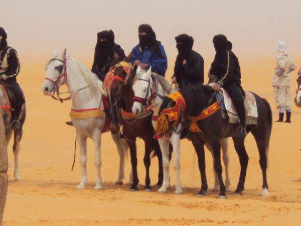 Les cavaliers du désert