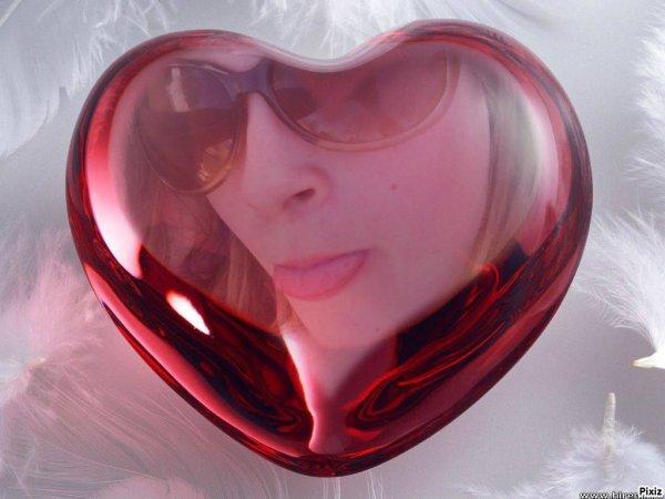 moi dans un petit coeur d'amour
