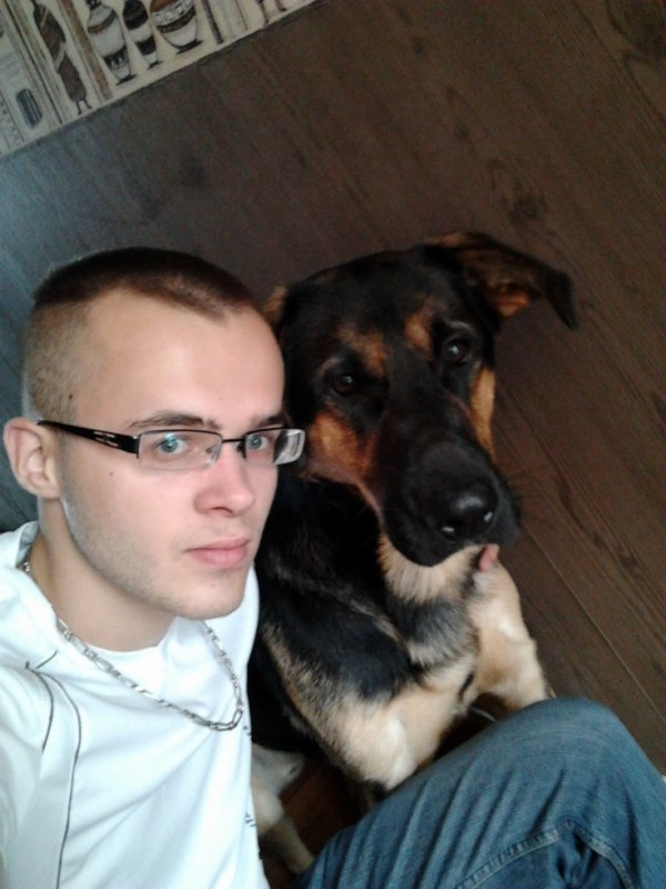 moi et mon tyson :)