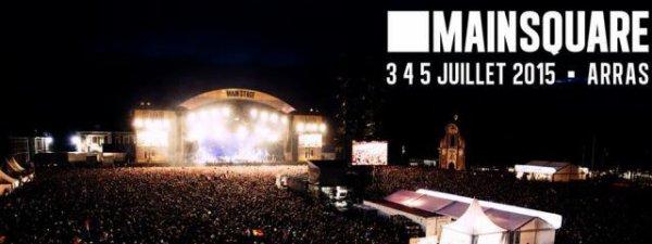 Main Square Festival Arras le 3 juillet 2014