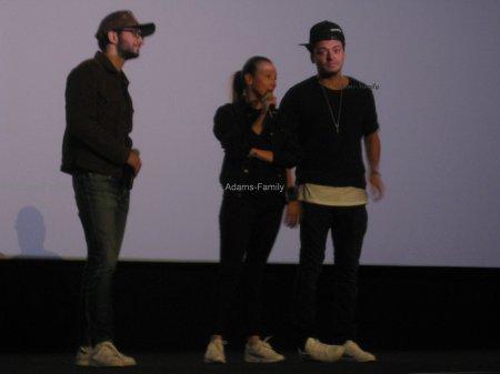 Avant première Les nouvelles aventures d'Aladin, Bruay-la-Buissière avec Kev Adams, Audrey Lamy et William Lebghil le 2 septembre 2015