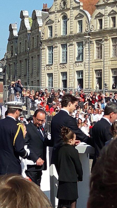 Commémorations Bataille d'Arras, le 9 avril 2017