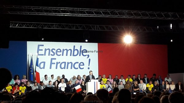 Ensemble la France, Arras le 26 avril 2017