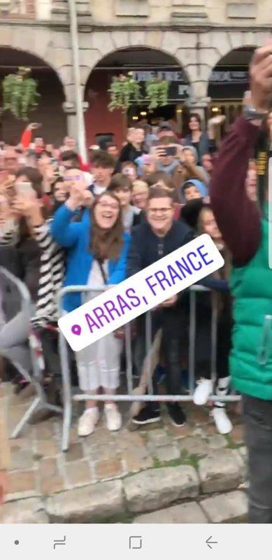 Avant première Alad'2, Arras le 26 août 2018