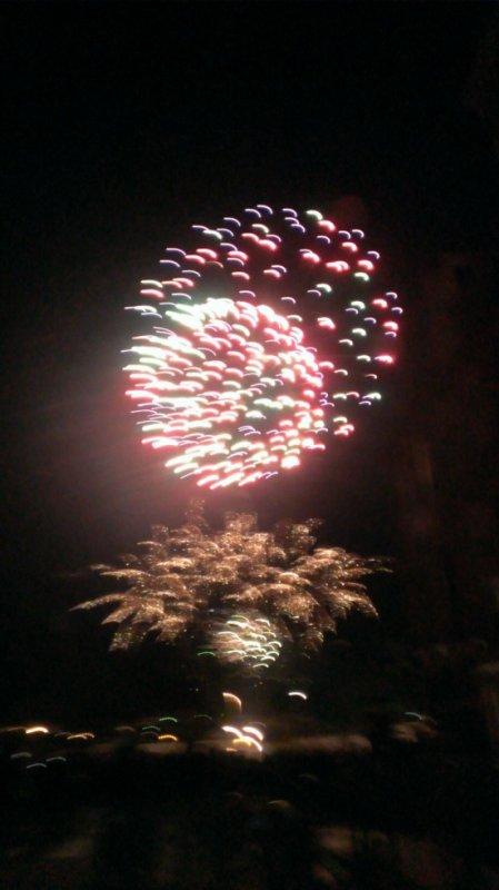 Le feux d artifice