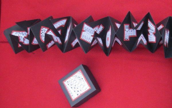 Zentangle Alphabet Hanging Book 2013