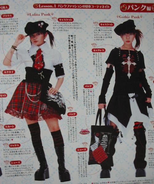 Industrial /punk lolita