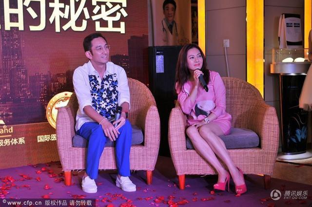 News : Loletta Lee et Lawrence Ng en événement pour un hôpital  (27 juillet 2014).