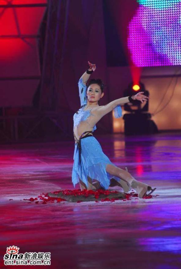Loletta Lee ,participante pour une émission télé chinoise (2007)