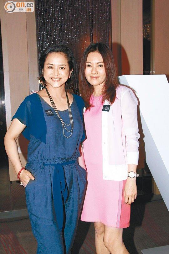 Loletta Lee et Gloria Yip à un défilé de mode enfant