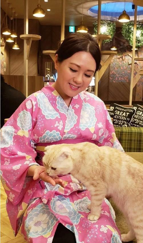 News du 7 Aout 2018 Loletta Lee dans un bar à chat
