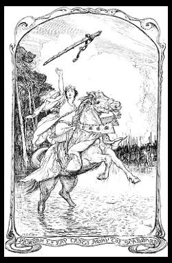 EXCALIBUR - l'épée légendaire d'Arthur Pendragon