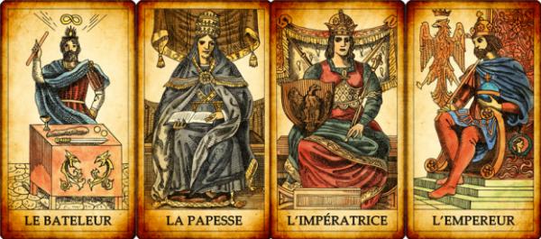 LA TAROMANCIE : LES ARCANES MAJEURS - partie I