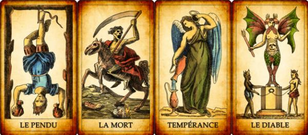 LA TAROMANCIE : LES ARCANES MAJEURS - partie II