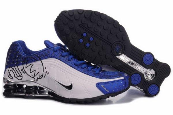 Best Nike Shox Cartoon Mens Shoe Black White
