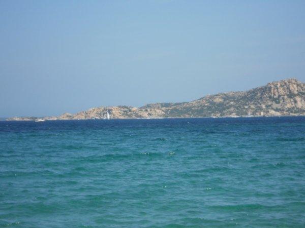 Une plage paradisiaque de mes superbes vacances