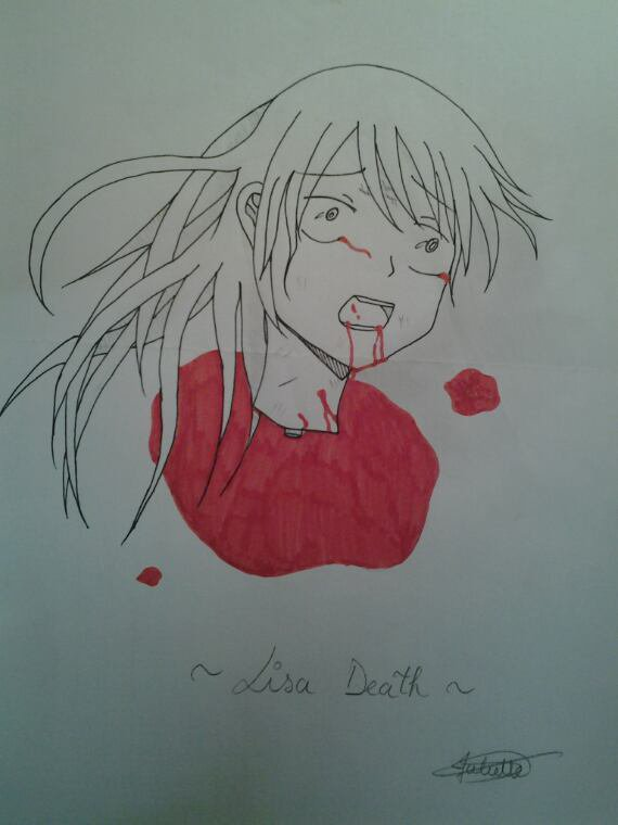 Le Manoir hanté (Lisa death)
