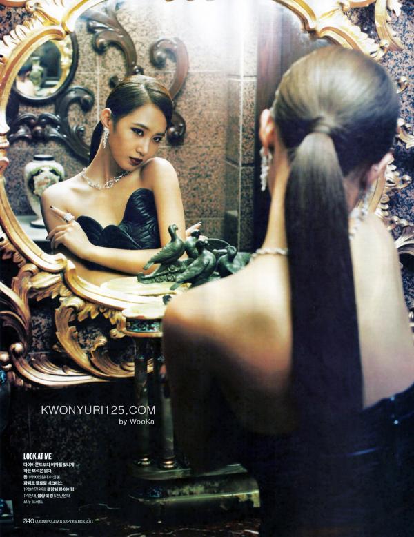 Cosmopolitan ~ Septembre 2011 Model : Yuri★