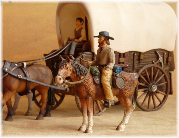 Chariot de pionniers Schleich®