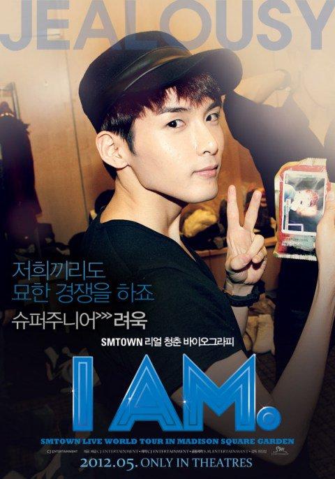 SM Entertainment révèle les posters des Super Junior pour le film « I AM. »