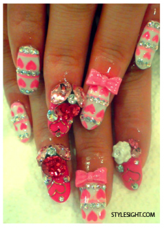 Des ongles Kawaii :3 / Kawaii Nails :3