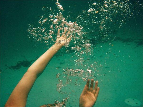 I'm falling down ...