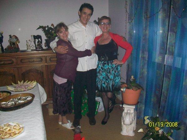 avec mes amis noel 2011