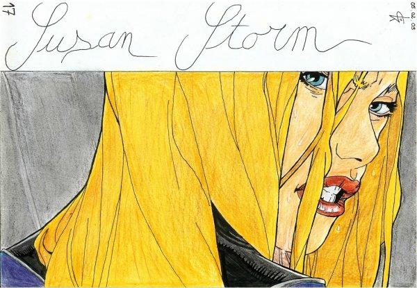 Susan Storm des 4 Fantastiques!