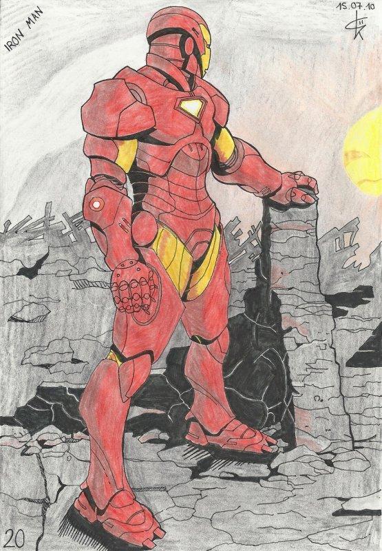 Iron Man débarque sur le blog avec son allié de toujours Captain America!