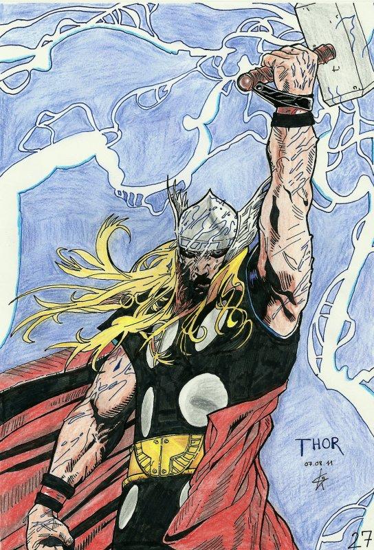 Thor, fils d'Odin!