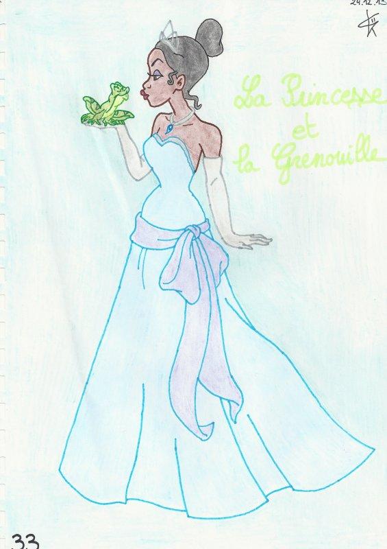 "Tiana de ""La Princesse et la grenouille"""