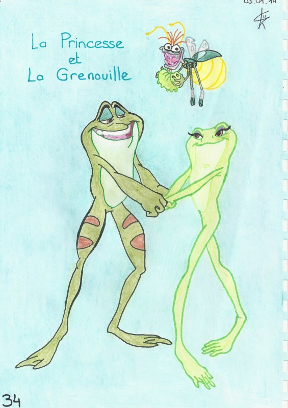 La Princesse et la Grenouille!