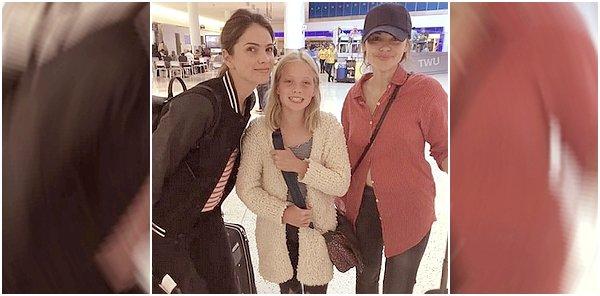 - 07/10/2016: Deux photos d'Holl durant son anniversaire. (+) à l'aéroport avec Shelley Hennig -