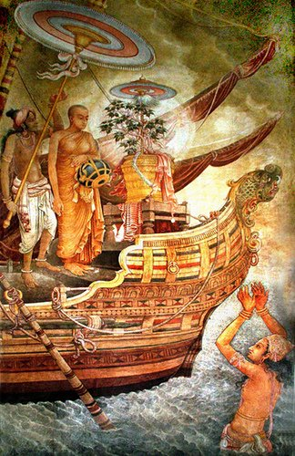UNDUVAP FULL MOON POYA DAY ~  SRI LANKA