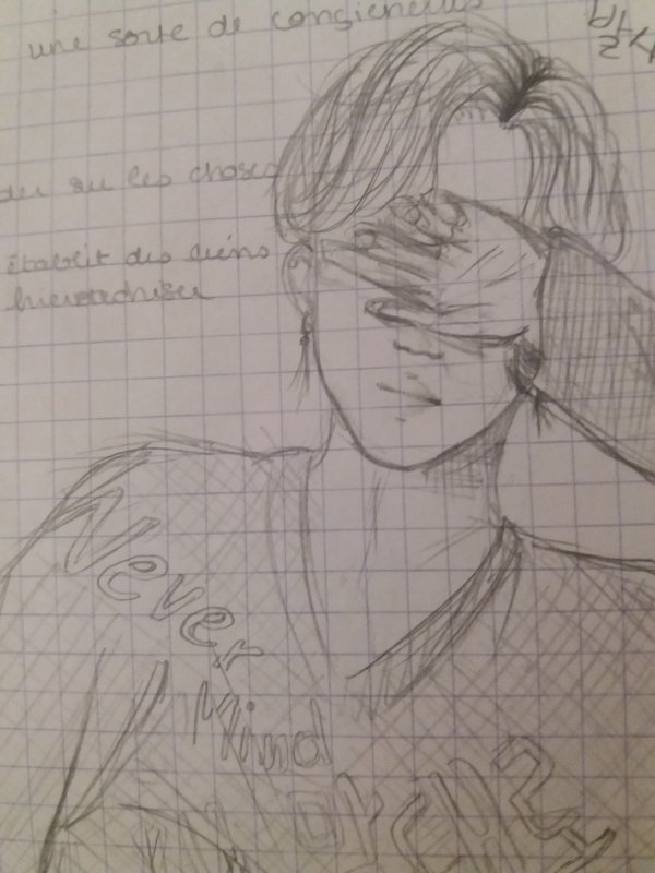 Me during class !>< (part 2)