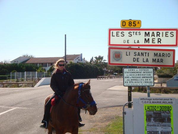 Avec ma fidèle Lara en Camargue :P