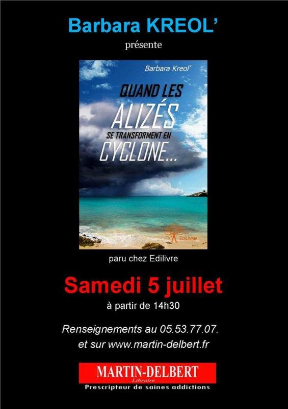 Festival Tropical d'Agen du 05.07.2014 - Dédicaces à Librairie Martin Delbert