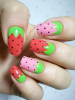 Nail Art Strawberry :) <3