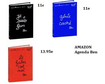 Les Agendas Ben <3