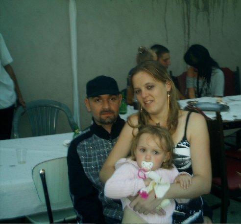 moi , ma femme et ma fille